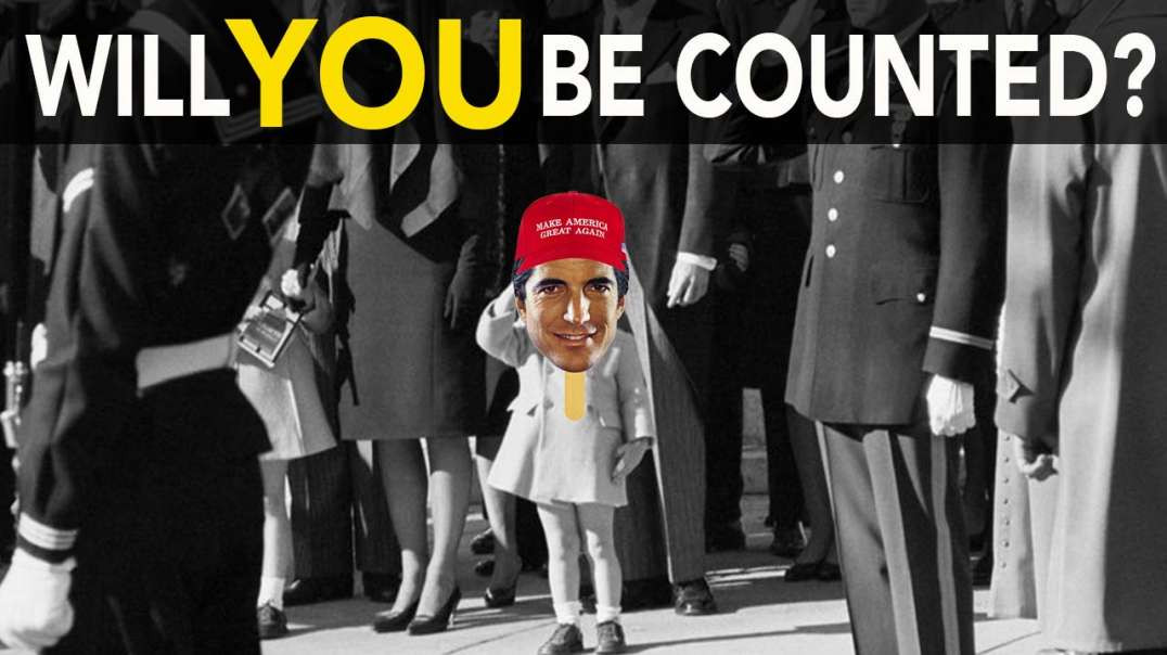 JFK Jr Salutes Father - Will you be Counted?  In 4, 3, 2… JUAN!