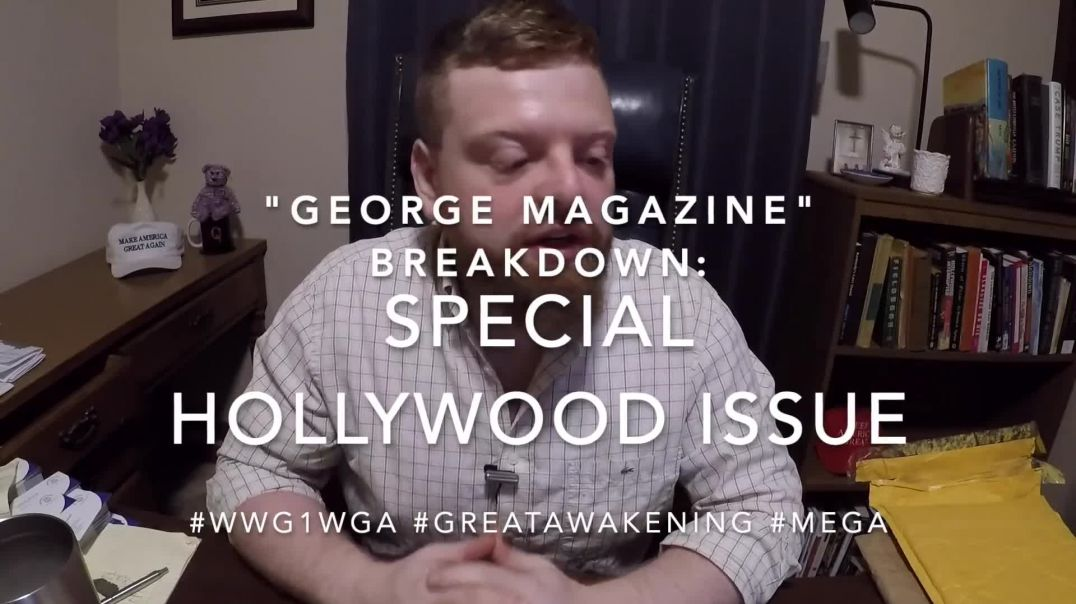 "John Kennedy Jr.'s ""George Magazine"" Breakdown: Special Hollywood Issue, March 1997"