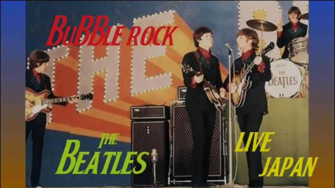 Beatles - (Japan - Live - Remaster Video - 1966) - Bubblerock HD