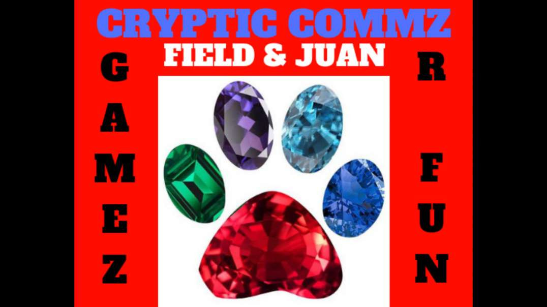CRYPTIC COMMZ:  FIELD AND JUAN - GAMEZ R FUN