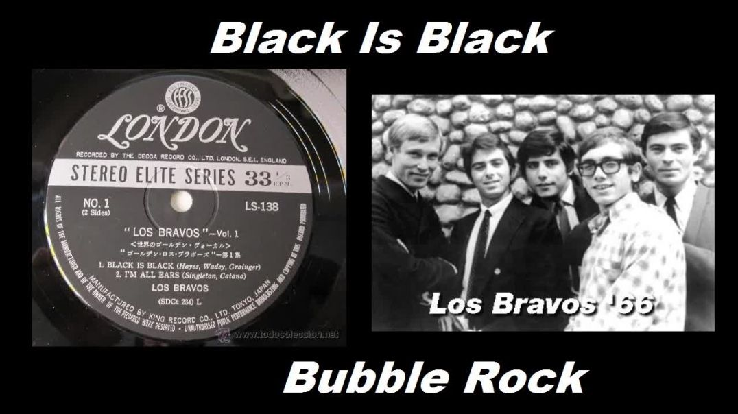 Los Bravos - Black Is Black - (TV Stereo Remaster - 1966) - Bubbelrock - HD