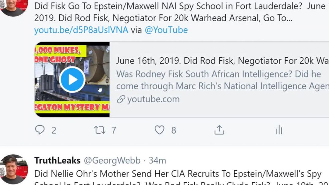 July 26th, 2019  Did Nellie Ohr Go To Marc Rich's Spy School_  Did She Fly Air Epstein