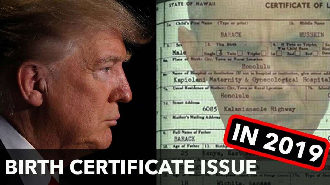 Trump forgets birth certificate... said no JUAN ever! (PART 01 OF 03)