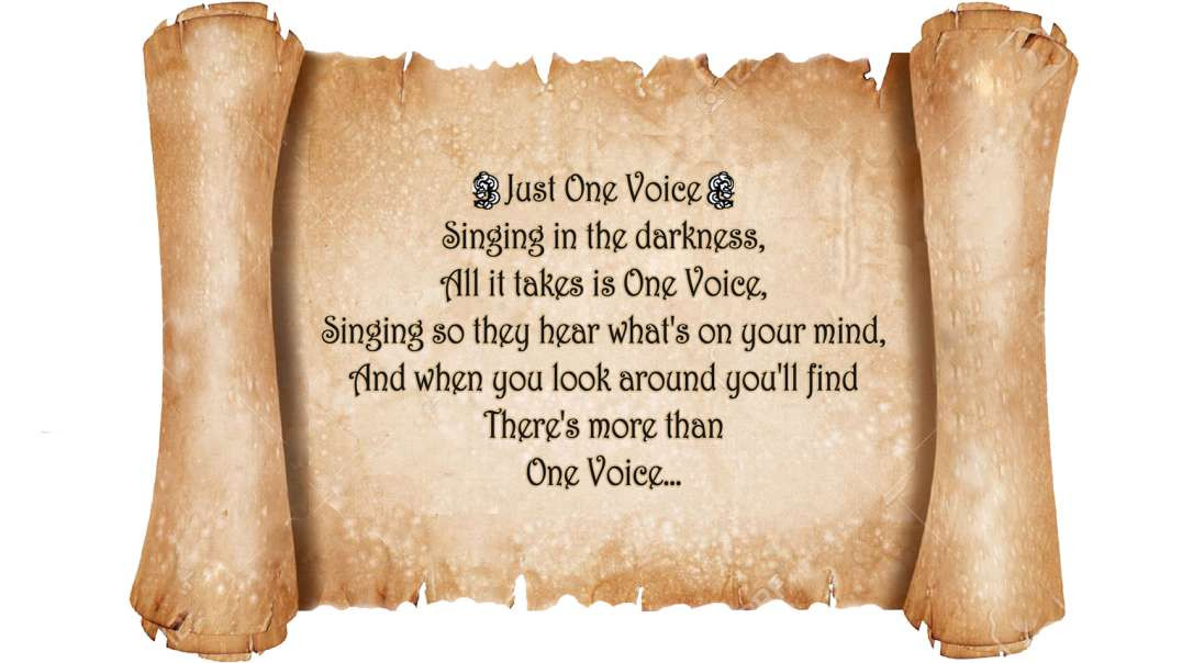 One Voice- Dark to Light
