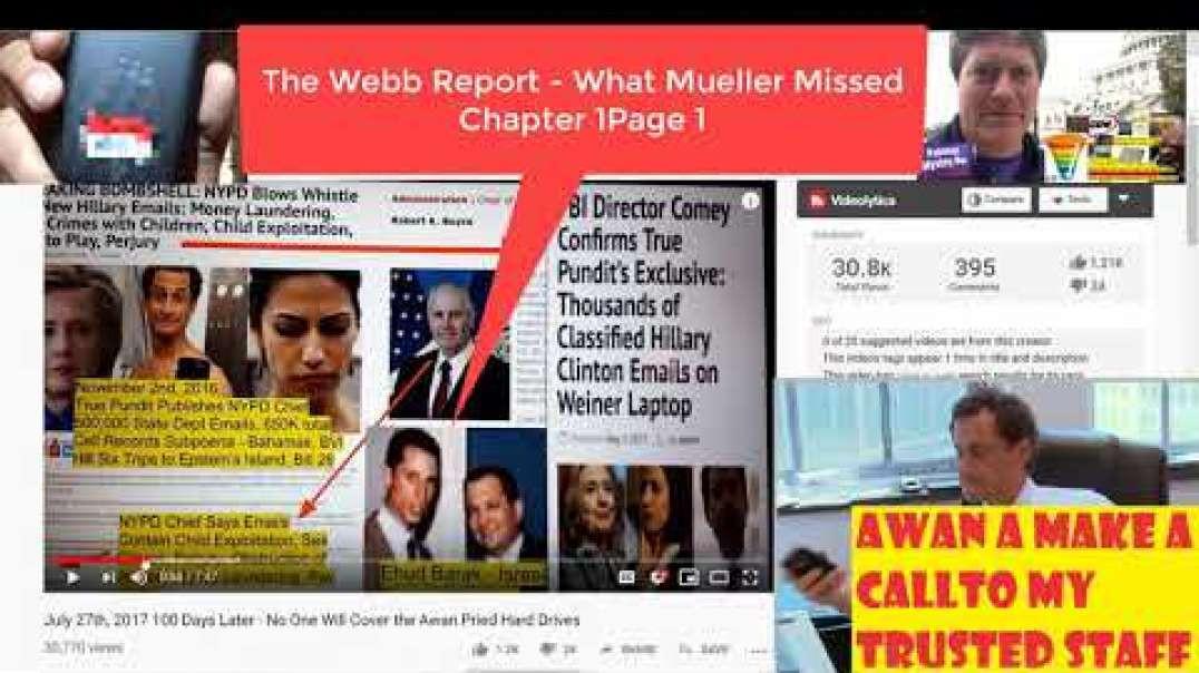 The Webb Report - What Mueller Missed - Chapter One - Page One