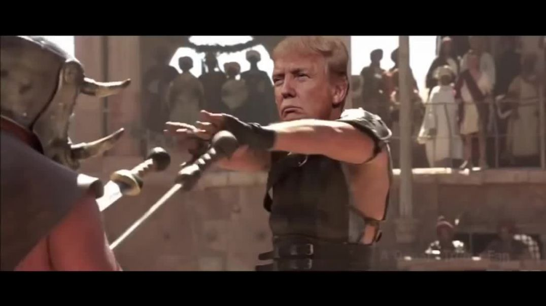 Donald Trump - The Gladiator!