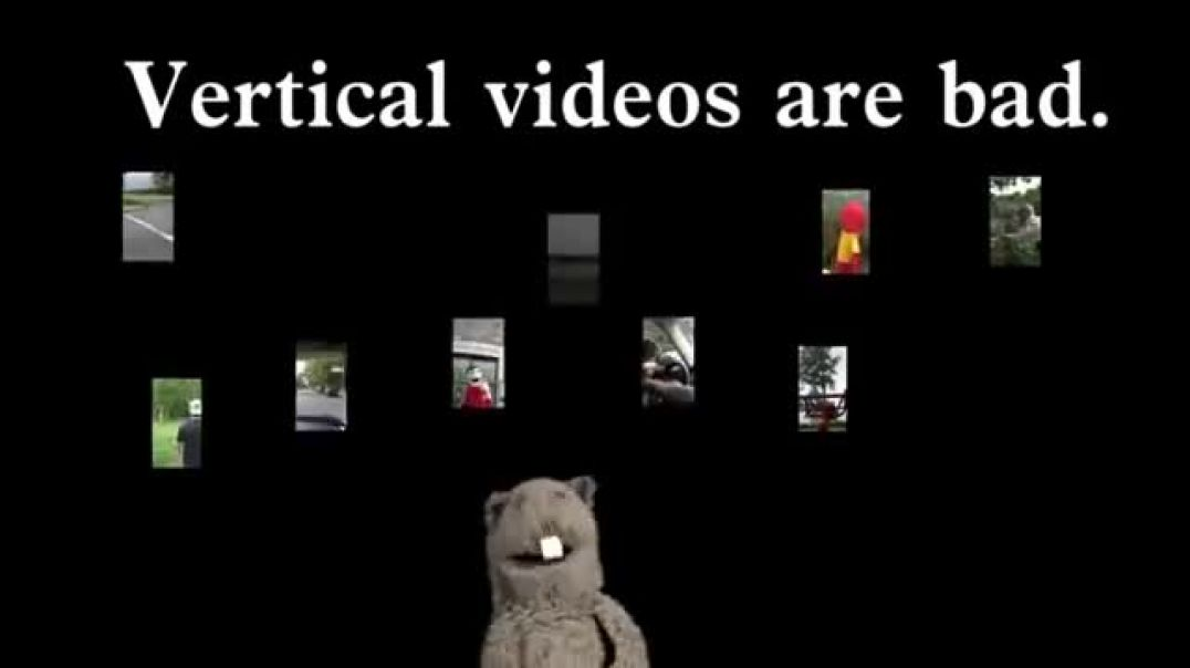 PSA: Vertical Video Syndrome