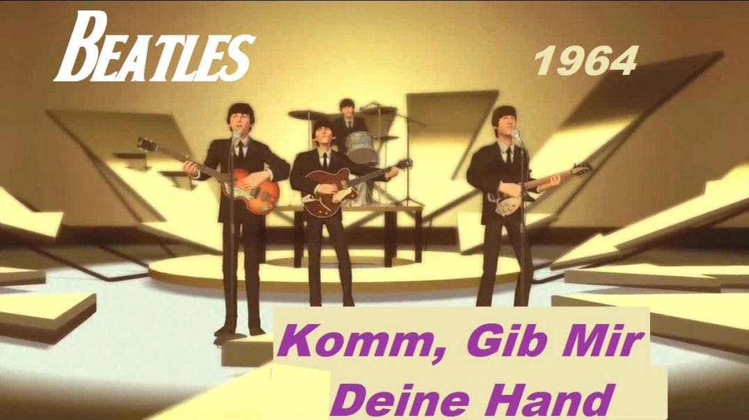 Beatles - I Want To Hold You Hand - (German Version) - Bubblerock Band - HD