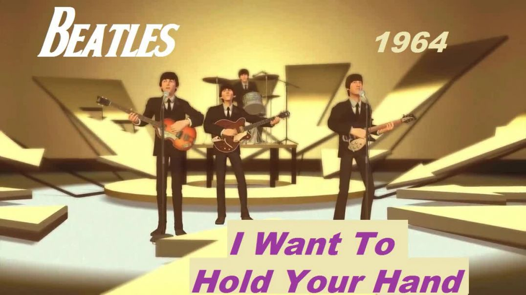 Beatles - I Want To Hold Your Hand - Bubblerock Band - HD