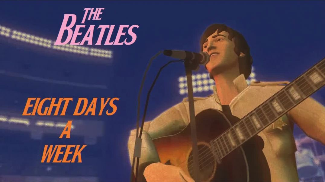 Beatles - Eight Days A Week - (Bubblerock Band - 1965) - HD