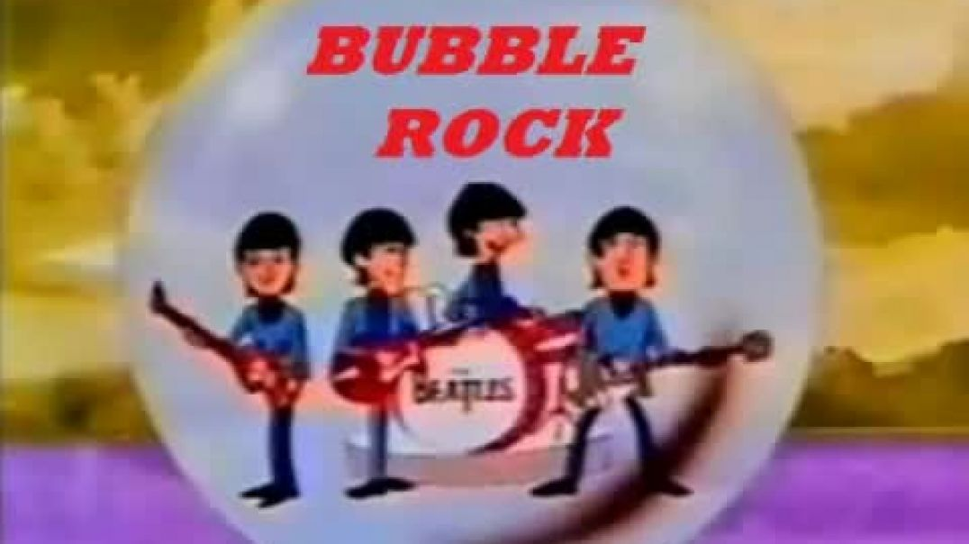 Beatles - Do You Want To Know A Secret - (Cartoon - 1965)  - Mono Radio Bubblerock Mix