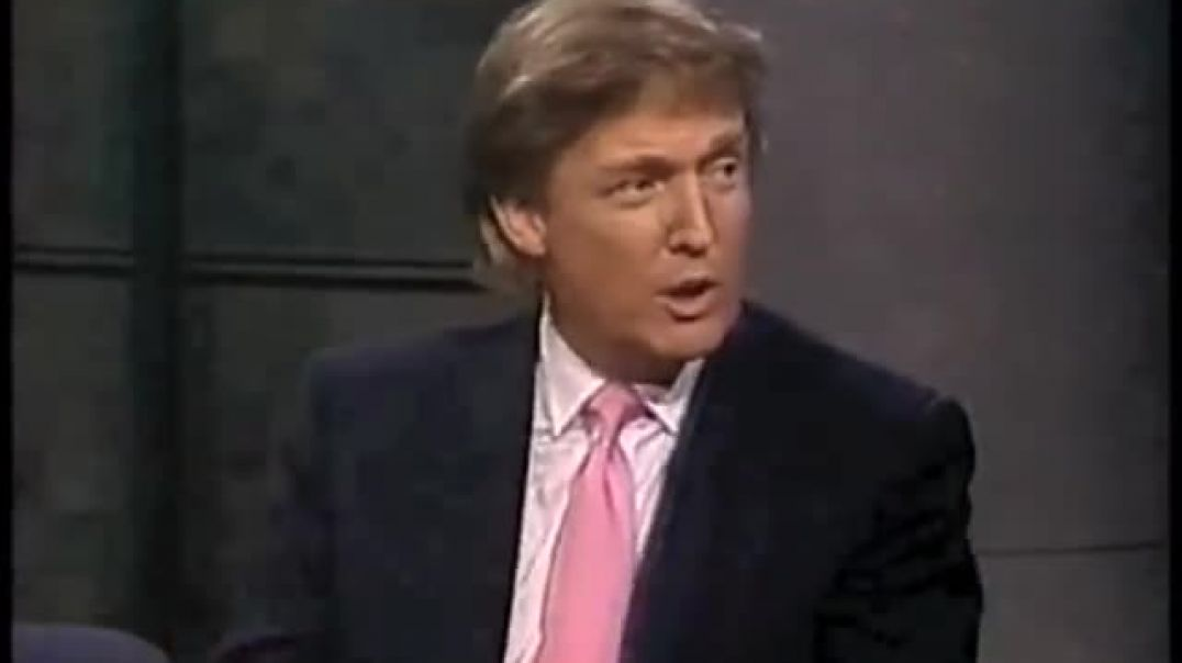 Donald J. Trump on Letterman (May 21, 1992)