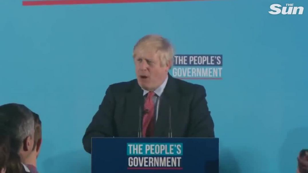 Boris Johnson hails 'stonking' election win 'to get Brexit done' in jubilant victory speech