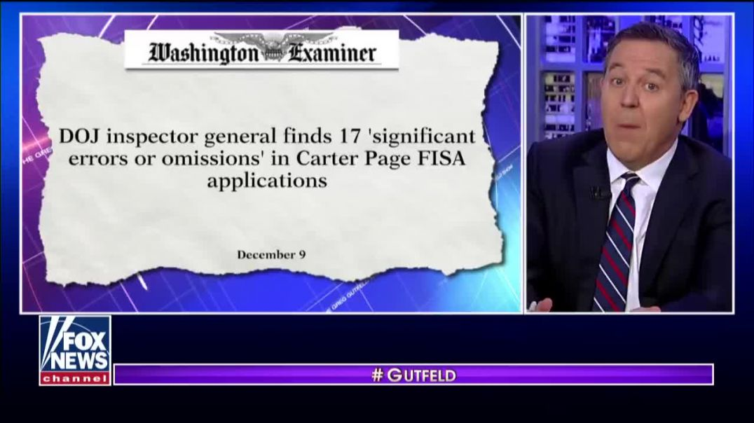 Gutfeld: BEHOLD! The first impeachment based on imagination!