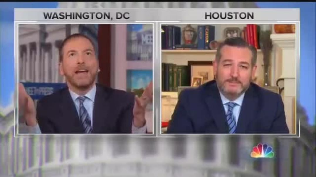 Ted Cruz owns Chuck Todd Over Ukraine Interference