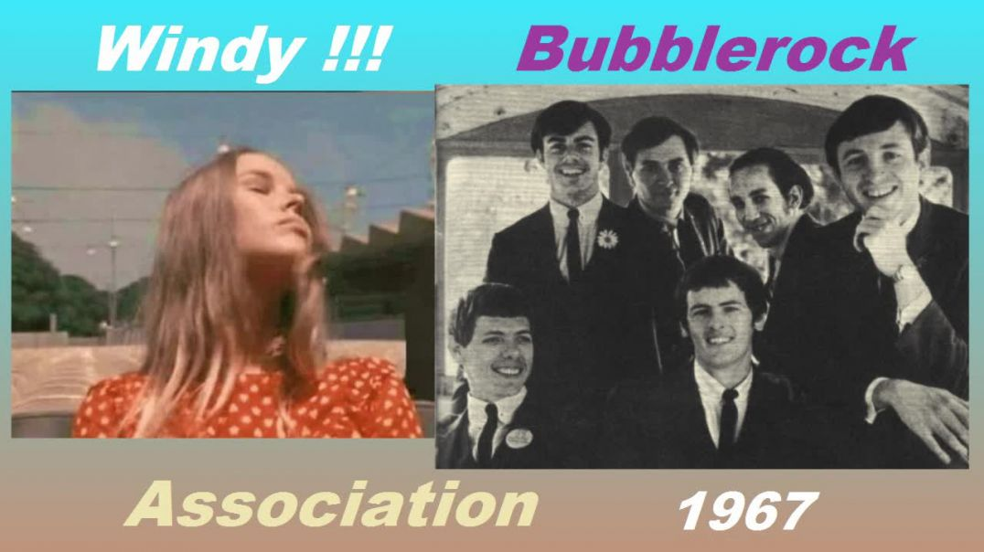 Association - Windy - (Split Screen Stereo Video Remaster - 1967) - Bubblerock - HD