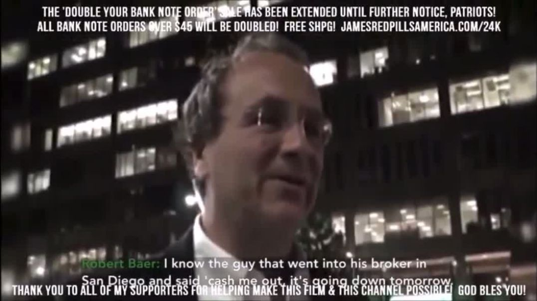 Public admission of insider trading on 911