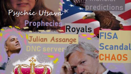 Is Trump in danger? News about Julian Assange, the Royals, politics and financial Markets.