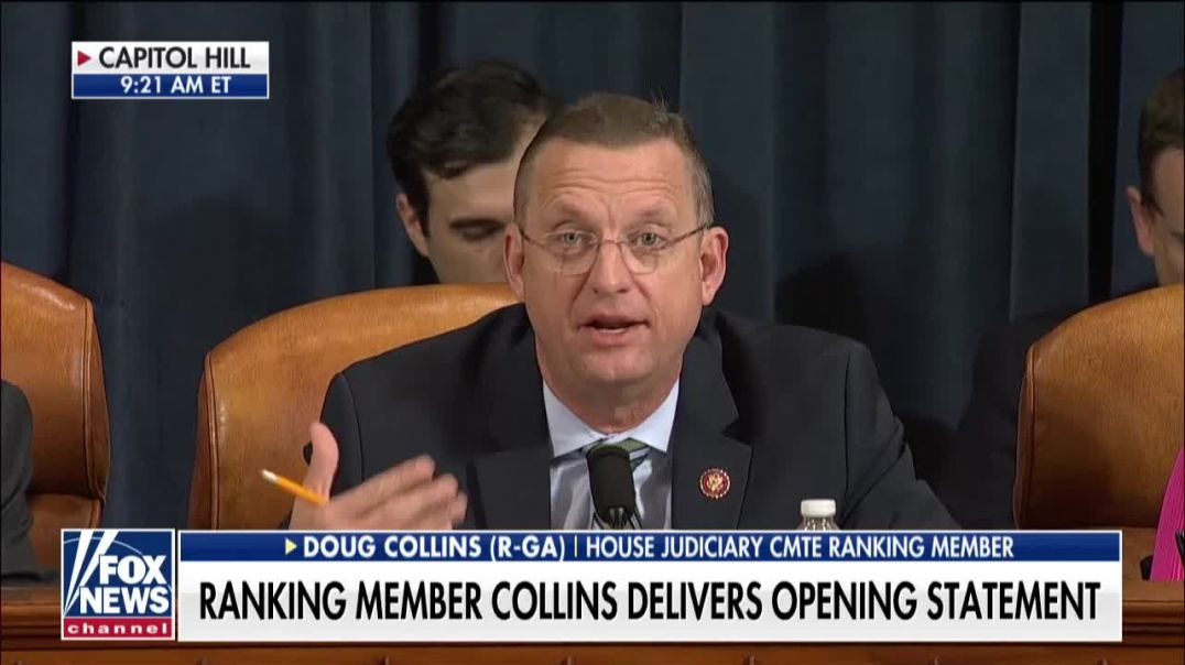 "Rep. Doug Collins: The ""focus-group impeachment"" has no facts"