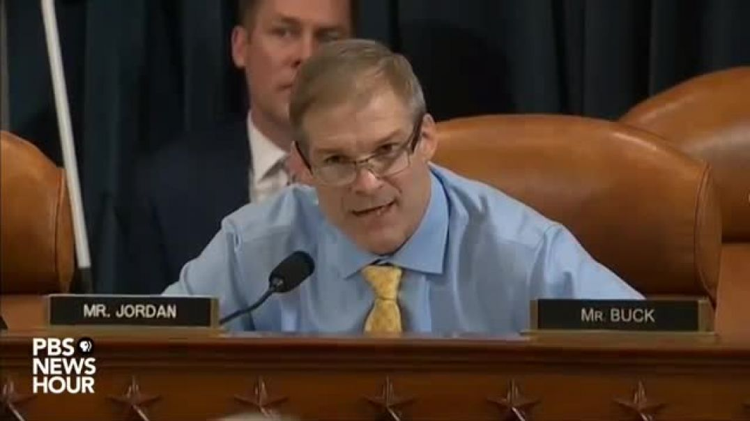 "Rep. Jordan Highlights Karlan's Hypocritical Standards, ""Ridiculous"" Comments On Ukraine Phone Call"