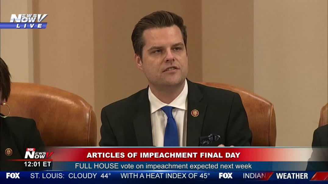 Rep. Gaetz EXPOSES H. Biden's Past Issues w/CRACK